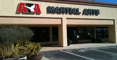 ATA Martial Arts building.