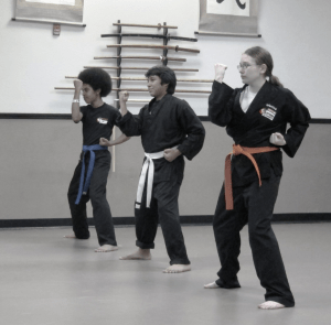 Karate gi in black