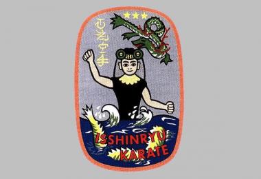 Isshin-ryū karate logo